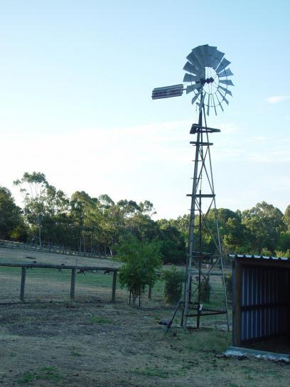 windmill, farm