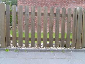 bois, clôture