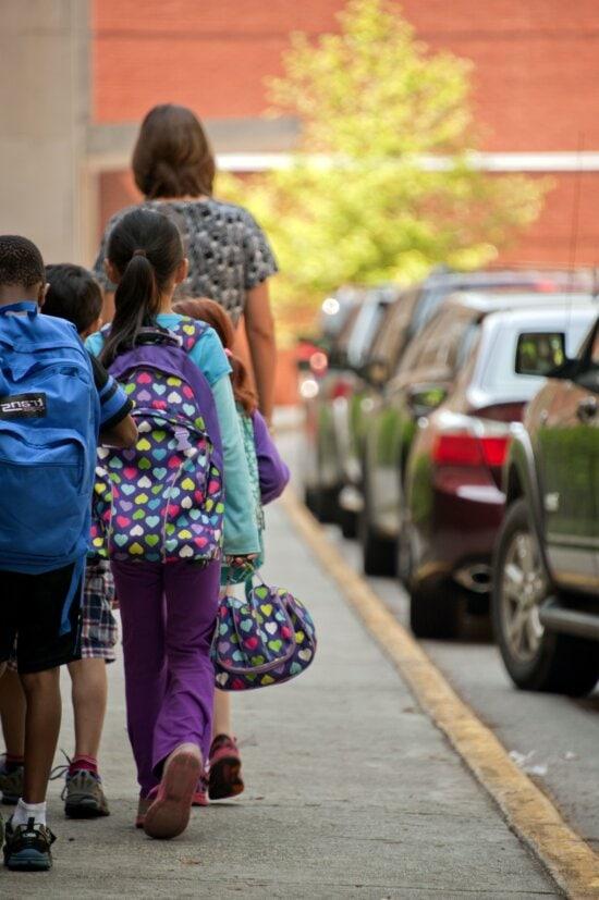 administrative, escort, pick, kids, students