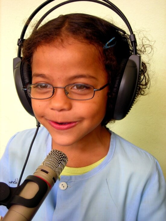 Year, old, plays, big, role, countrys, interactive, educational, radio, programs