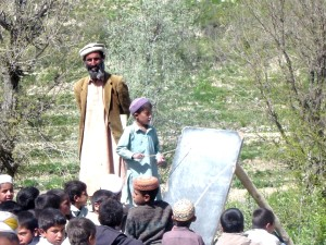 Afghanistan, boy, education, outdoor, classroom