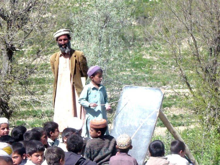 Афганистан, мальчик, образование, Открытый, классная