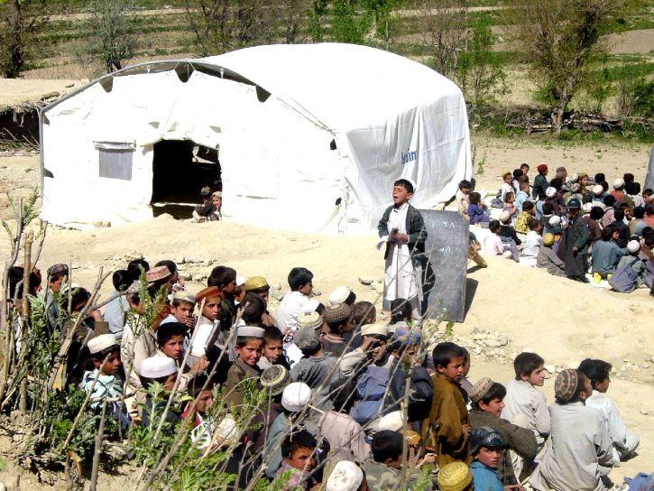 Afganistan, chłopców, na zewnątrz, Klasa