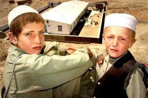 Afganistan, pojat, kasvot, muotokuva