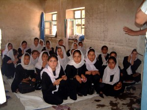 Афганистан, момичета, образование