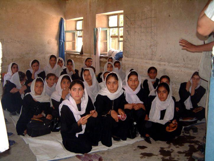 Афганистан, девочек, образование