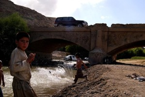 Afghanistan, river, road, reconstruction, project