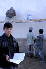 Afghanistan, boy, student, high school