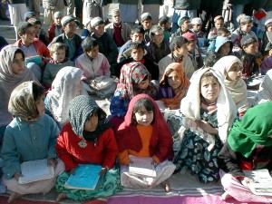 afghanistan, students, textbook, outdoor, class