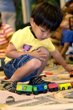 boy, play, daycare