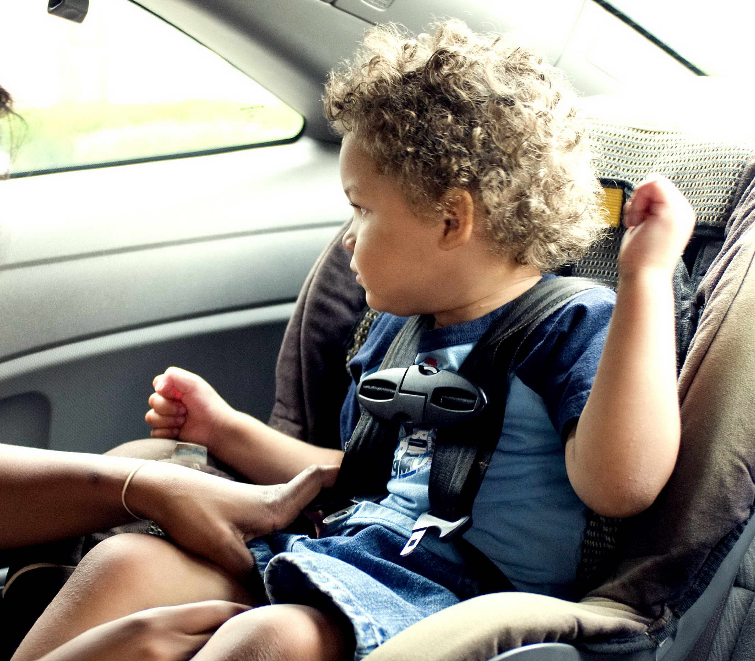 Free photograph; child, safety, seat, car