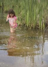παιδί, λίμνη