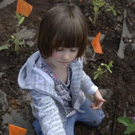 child, shows, worm, found