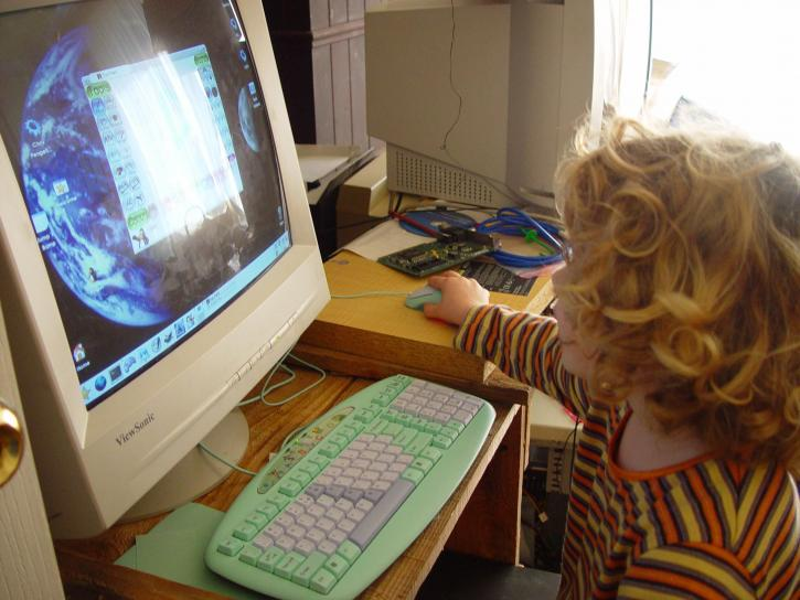 child, sized, a4tech, keyboard
