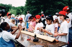 children, demonstration, education
