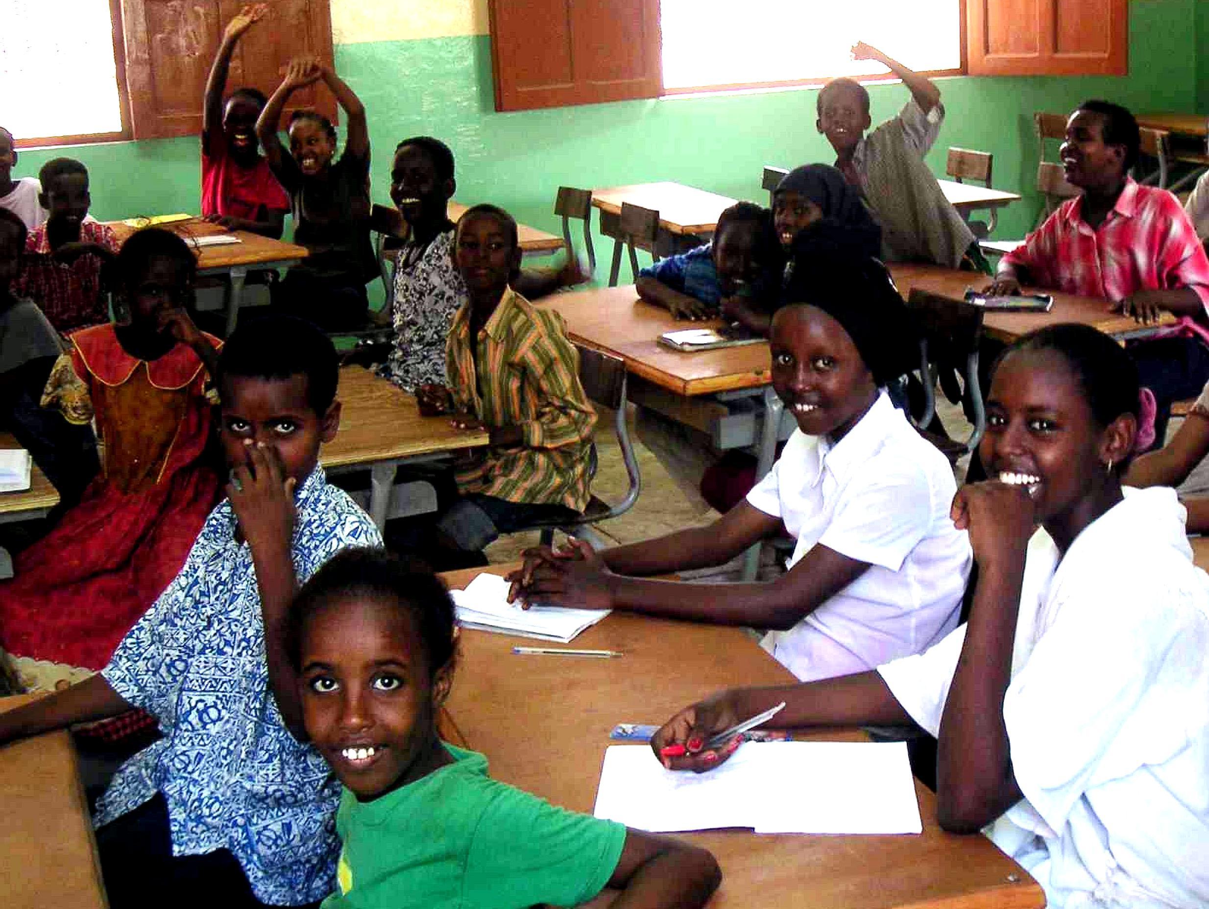 Free picture: children, primary school, Djibouti, Africa