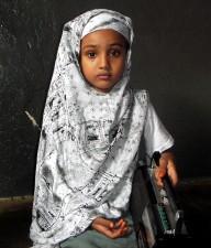 les enfants, la Somalie, l'école, grâce, l'éducation, la radio