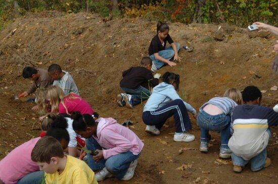 children, play, ground
