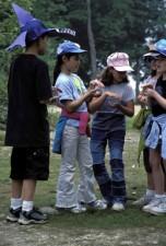 enfants, jeu, parc