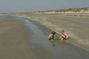 children, play, sand, beach