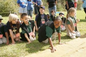 children, prepare, race, bears