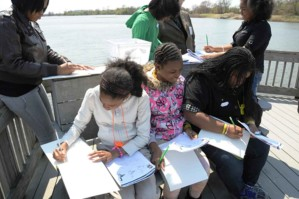children, drawing