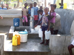 collecting, water, water pump