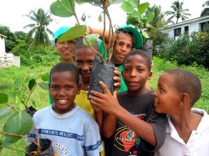 Dominikanska, djeca, voće