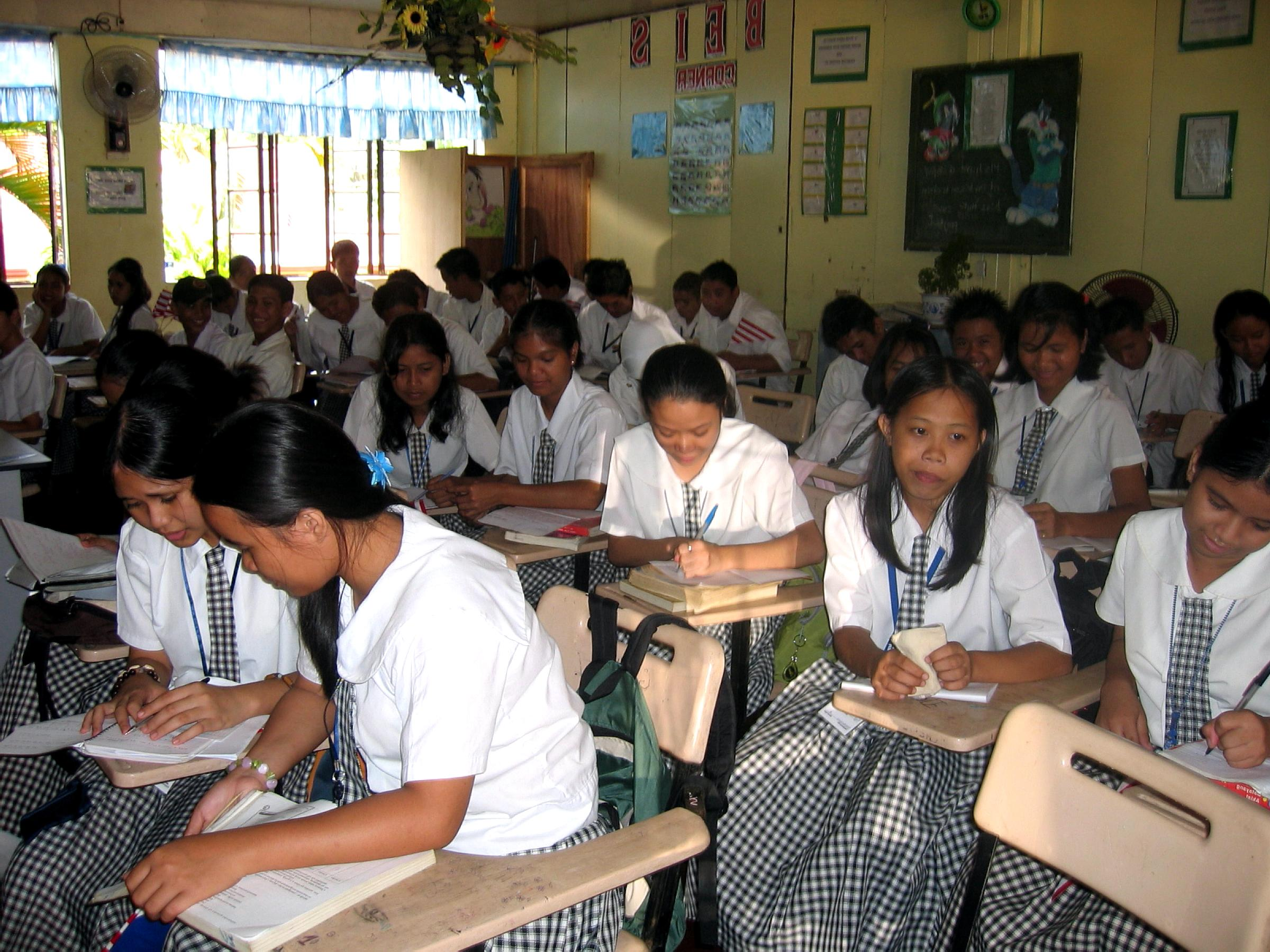 improved quality of education in philippine Quality of education - this is the first major issue that the philippine government should resolve but somehow it is recently improving the quality of philippine education has declined few years ago due to poor results from standard entrance tests conducted among elementary and secondary students, as well as the tertiary levels.