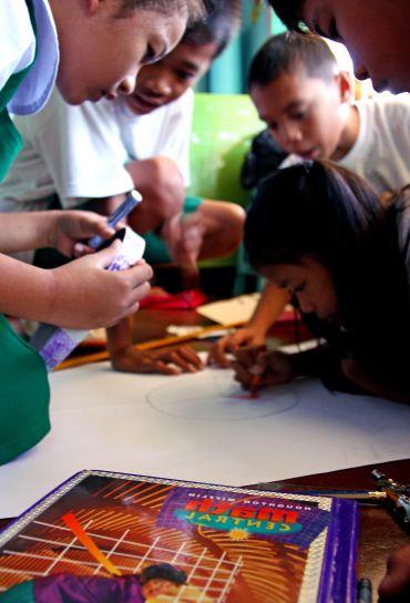 elemi, diákok, Tetuan, Közép, általános iskolai, iskola, Zamboanga, város