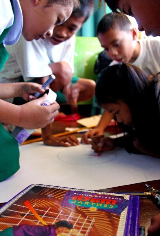 elementary, students, Tetuan, central, elementary, school, Zamboanga, city