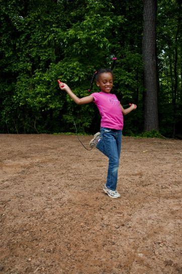 heureux, afro-américaine, fille de l'école, photographié