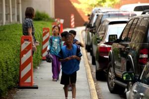 φρουρά, τα παιδιά, ασφαλή, σχολείο
