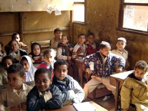 kids, school, Egypt