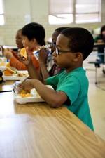 enfants, manger