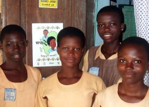 teens, high school, Ghana, learning