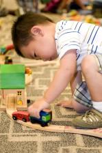 kis, fából készült, játék, autó, játék, készlet