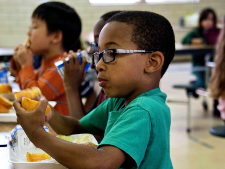 riktig, ernæring, fremmer, optimal, vekst, utvikling, barn