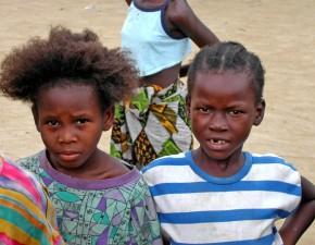 uchodźcy, dzieci, bliska, twarze