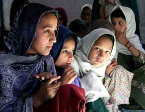 schoolchildren, tent, school