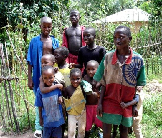 Senegal, children