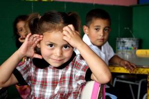 étudiants, Marta, Urrutias, jardin d'enfants, classe, Centro, Escolar, Lajas