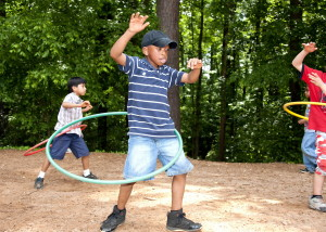 young, African American, school boy, photographed, outdoor, physical, education, class