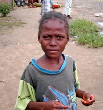 young, African, girl, child, Liberia