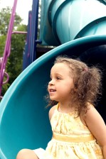 jeune fille, amusement, jeu, promenades
