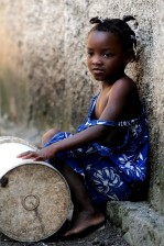 young girl, Africa, child