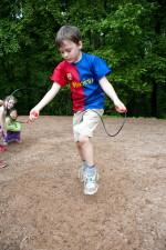 enfant jeune, amusement, jeu