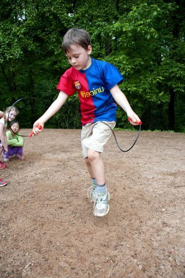 young, kid, having, fun, playing