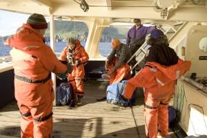 côte, garde, le sauvetage, l'équipe, la préparation, le sauvetage, l'opération