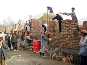Afghánistán, jurm, školy, stavby, projekt